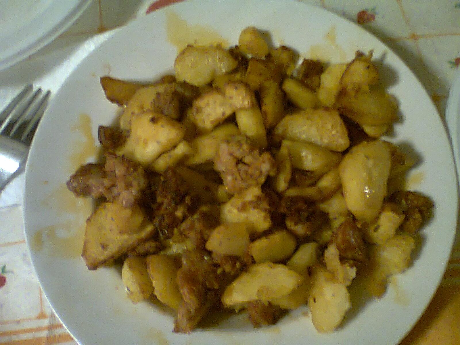 Salsicce con patate (per 4 persone)