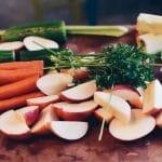 Frittata con zucchine, prosciutto, ricotta e spinaci