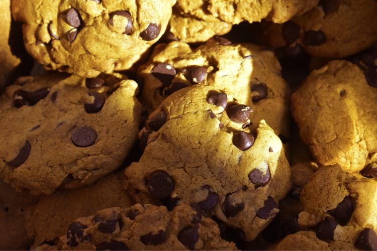 Biscottini con gocce di cioccolato